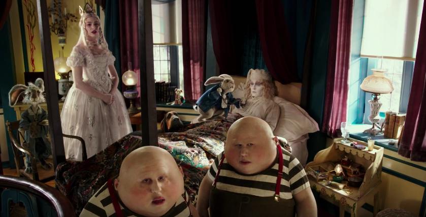 Alice au pays des merveilles de l 39 autre c t du miroir for De l autre cote du miroir