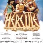 Hercule dans une histoire à la grecque