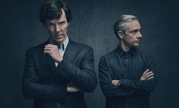 Sherlock série saison 4 avec Bénédict Cumberbatch