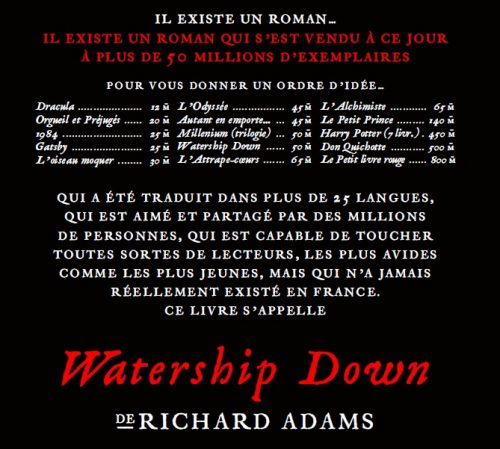 Watership-Down-ventes