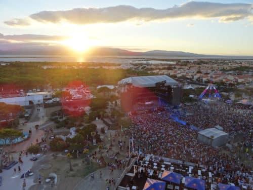 L'Electrobeach Music Festival, organisé chaque année dans un environnement de rêve. ©Jean-Marie Siousarram