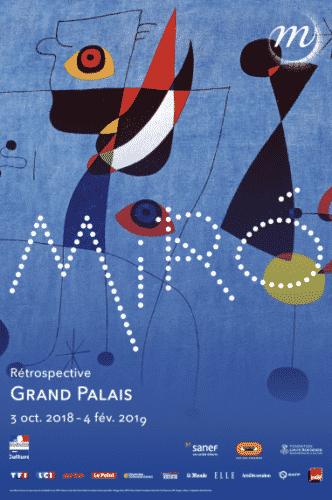 Exposition Miro, Grand Palais