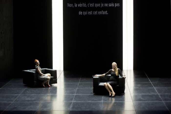 Au monde, opéra de Philippe Boesmans sur un livret de Joël Pommerat pour une rencontre au sommet, à voir chez vous !