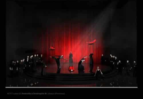 Captation de l'Opéra « Akhnaten » de Philip Glass