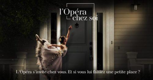L'Opéra chez soi : lancement de la plateforme de l'Opéra national de Paris le 13 décembre