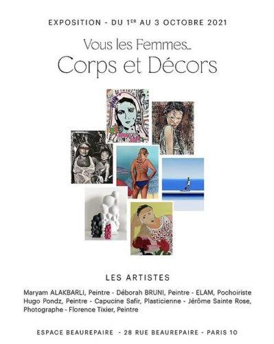 """Exposition """"Vous les femmes … Corps et décors""""  7 artistes singuliers à découvrir !"""