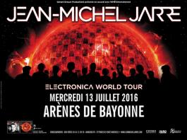 Jean-Michel Jarre aux Arènes de Bayonne