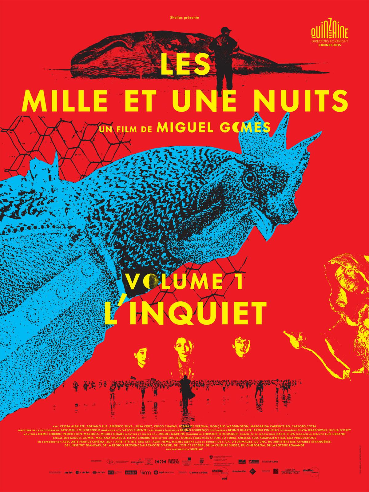 Les mille et une nuits, 1er volume, L'Inquiet