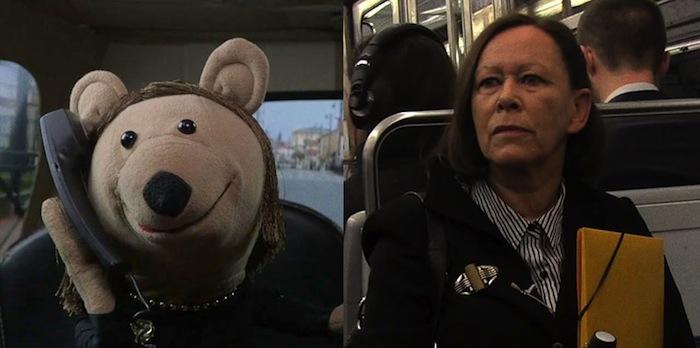La sociologue et l'ourson