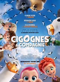 Affiche Cigognes et compagnie
