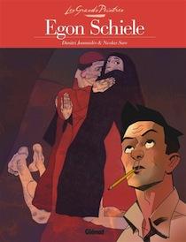 Egon Schiele, une bande dessinée de Dimitri Joannidès et Nicolas Sure (Glénat)
