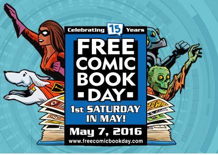Free Comic Book Day 2016 : des comics gratuits toute la journée