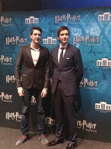 James et Oliver Phelps - Harry Potter. Crédit photo : Charlotte Henry