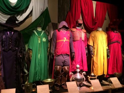 Costumes de Quidditch. Crédit : Charlotte Henry