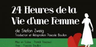 24 heures de la vie d'une femme Stefan Zweig affiche