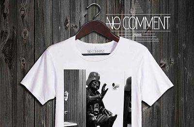 10 Tee-shirts décalés Star Wars avec No Comment Paris