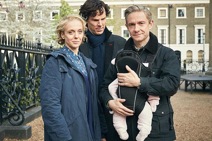 Sherlock saison 4 The six Thatchers