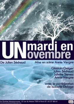 Un mardi en novembre de Julein Séchaud